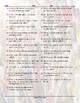 Personal Information Jumbled Words Worksheet