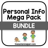 Personal Information Mega Pack {BUNDLE