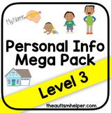 Personal Information Mega Pack {Level 3}