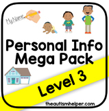 Personal Information Mega Pack {Level 3}