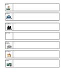 Personal Information Practice Worksheet (scaffolded)