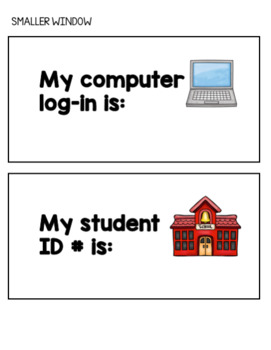 Personal Information Practice for Special Education