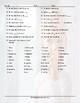 Personal Information Word Spiral Spanish Worksheet