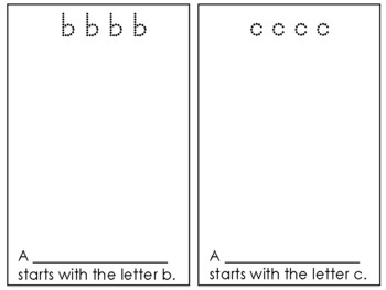 Lowercase Letter Practice for K/1