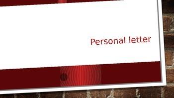 Personal Letter Presentation
