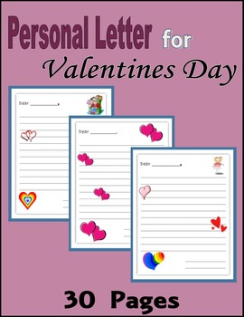 Personal Letter for Valentines Day