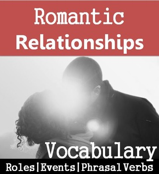 Personal Life (A): Romantic Relationships Vocabulary  (Adult ESL)