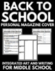 Personal Magazine Cover - Fun and Creative Back to School Activity