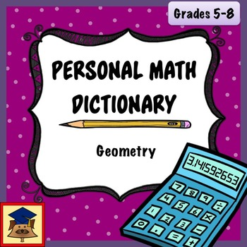Personal Math Dictionary: Geometry