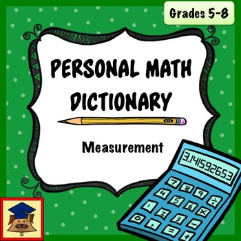 Personal Math Dictionary: Measurement