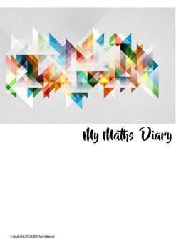 Personal Maths Diary