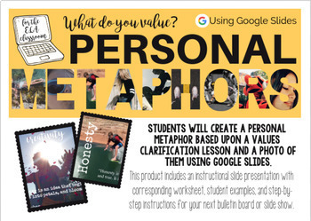 Figurative Language with Personal Metaphors...a Digital Project