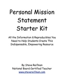 Personal Mission Statement Starter Kit