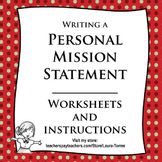 Personal Mission Statement Worksheets