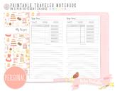 Personal My Recipe Traveler Notebook Refill