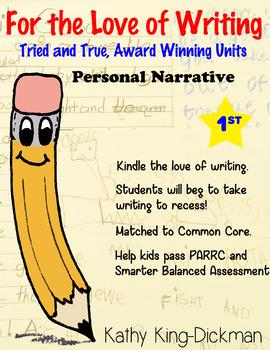 Personal Narrative 1st Grade
