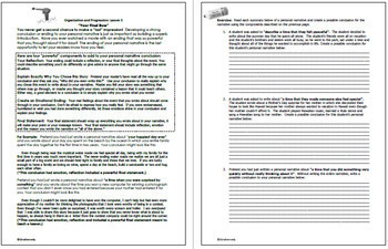 Personal Narrative Interactive Notebook, Complete Guide to Writing a Narrative!