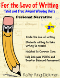 Personal Narrative 2nd Grade