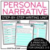 Personal Narrative Writing Unit | Digital Google Slides fo