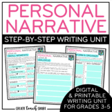 Personal Narrative Writing Unit | Digital Google Slides |