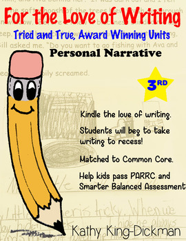 Personal Narrative 3rd Grade