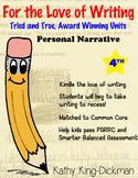Personal Narrative 4th Grade