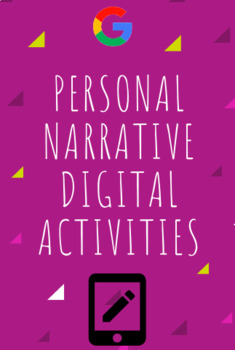 Personal Narrative Bundle: Hyperdoc and Digital Interactive Activity