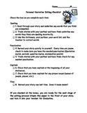 Personal Narrative Writing and Editing Checklist, Writing Checklist