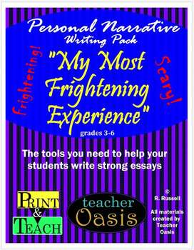 personal narrative essay my most frightening experience by personal narrative essay my most frightening experience