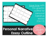 Personal Narrative Essay Outline