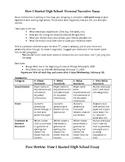 Personal Narrative Essay- Starting High School