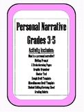 Personal Narrative Grades 3-5