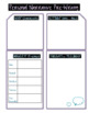Personal Narrative Graphic Organizer Pack (Color!)