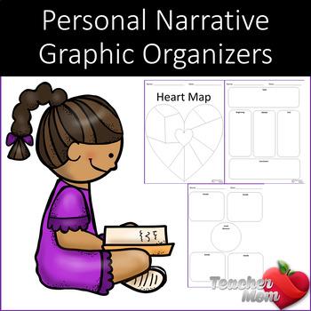 Personal Narrative Graphic Organizers