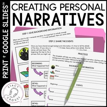 Personal Narrative Helper
