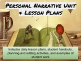 Personal Narrative Lesson Plans/Unit-Common Core!