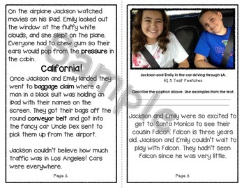 Personal Narrative Mentor Text: Traveling Tales to California