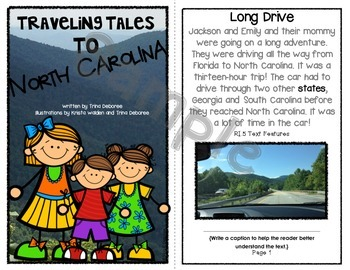 Personal Narrative Mentor Text: Traveling Tales to North Carolina