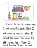 Personal Narrative Mentor Texts in First Grade: Farm, Ice