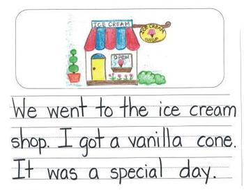 Personal Narrative Mentor Texts in Kindergarten: Farm, Ice Cream Shop, New House