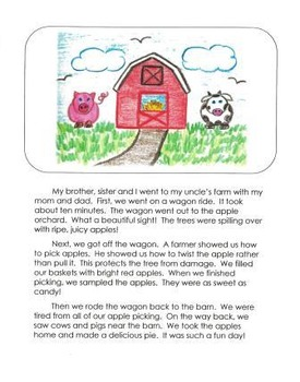 Personal Narrative Mentor Texts in Third Grade: Farm, Ice Cream Shop, New House
