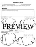 Personal Narrative/ Narrative Graphic Organizer/ Plot/ Men