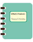 Personal Narrative Organizer Template - Great for ELLs