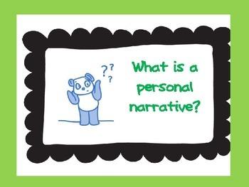 Personal Narrative PPT