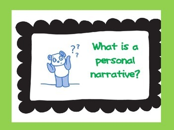 Personal Narrative PPT