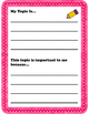 Personal Narrative Packet - Prewriting, Drafting, Editing,