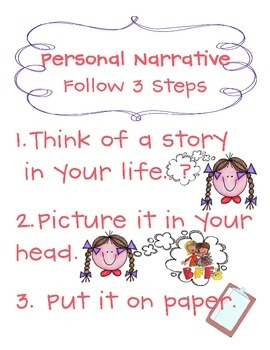Personal Narrative Poster