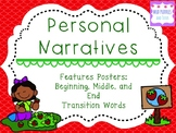 Personal Narrative Posters