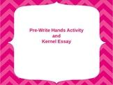 Personal Narrative Pre-Write Activity