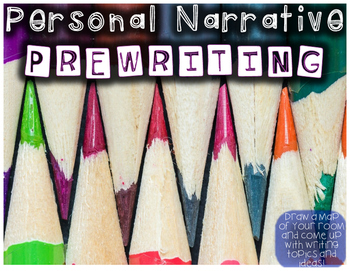 Personal Narrative Prewriting Exercise